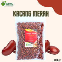 Rempah Organic - Natural Kidney Beans / Kacang Merah / Jogo 500 Gram