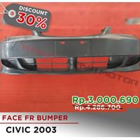 Face FR Bumper Civic 2003