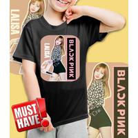Kaos/baju anak BLackPink - LISA LALISA- 001 (size anak 1 - 10 Tahun)