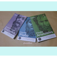 Paket Buku Filsafat Yunani Klasik : Socrates, Plato, Aristoteles
