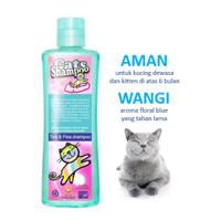 Shampoo kucing Armani Tick & Flea, basmi-cegah kutu, caplak |Raid All