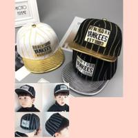 topi anak cowok snapback 3-12thn fashion Korea style