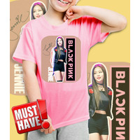 Kaos/baju anak BLackPink - JENNIE- 001 (size anak 1 - 10 Tahun)