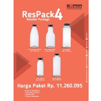 Paket botol ResPack 4
