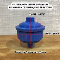 Filter Angin Universal Spraygun (muat untuk semua jenis spraygun)