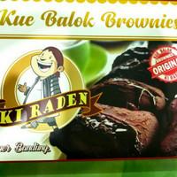 Kue Balok Brownies Coklat Ki Raden