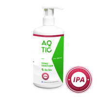 Hand Sanitizer AQTIC 500ml Botol Pump (Isopropyl Alcohol 70%)
