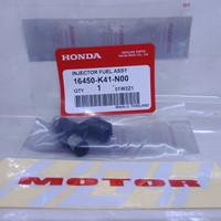 Injektor Plus Oring Seal Honda Revo Fit Supra X 125 Fi Helm in Ori