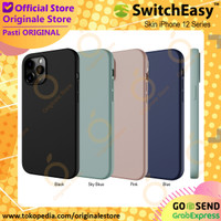 SwitchEasy Skin iPhone 12 Pro Max / 12 Mini / 12 Pro Soft Case - iPh 12 Pro Max, Blue
