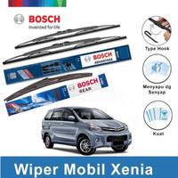 Bosch Wiper Kaca Mobil Daihatsu New Xenia Advantage Set 20 & 16 + H352