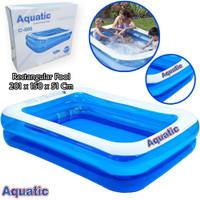 AQUATIC Kolam Renang Blue Rectangular Pool 201cm C005 / Kolam Anak