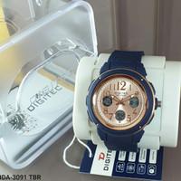 jam tangan wanita digitec 3091 original