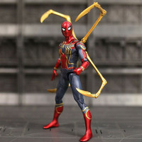 Action Figure Iron Spiderman Avengers seri End Game
