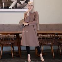 Baju Atasan Muslim Wanita Terbaru Berlina Tunik Termurah