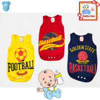 Jumper Bayi Karakter Bola/Hansop Bayi/Romper Bayi/Baju kodok Bayi