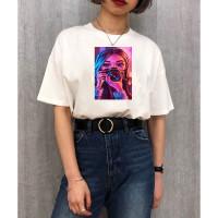 Tumblr Tee Tshirt Baju Kaos Wanita Remaja Cewek Canon Girl Kekinian