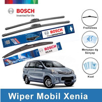 Bosch Wiper Kaca Mobil Daihatsu New Xenia Frameless 20 & 16 + H352