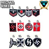 patch / emblem / bordir / bordiran bad religion Deus nazi menolak lupa