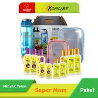 Konicare Minyak Telon Plus & Extra Lemongrass Paket Super Mom