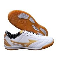 Sepatu Futsal Mizuno Neoshin Putih Gold
