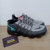 Sepatu Nike Air VaporMax Utility Tropical Twist Black Grey Blue Tosca