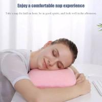 bantal tidur kantor mini bahan memory foam