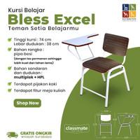 Kursi Sekolah Bangku Sekolah Kursi Kuliah Classmate BLESS EXCEL
