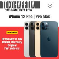 New iPhone 12 Pro | Pro Max 256GB Silver, Graphite, Gold, Pacific Blue