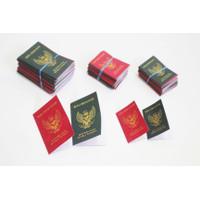Miniatur Buku Nikah,bahan mahar,Replika Buku Nikah,tersedia 2 ukuran