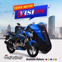 Cover Motor Sport Vixion R15 CBR 150R Ninja Nmax Pcx Thunder Megapro l - Kuning, All Size