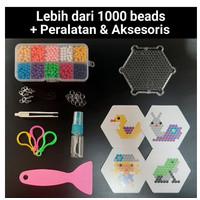 MAINAN EDUKASI ANAK/ Aqua Bead/Mainan Edukasi Aquabeads 1000 Beads