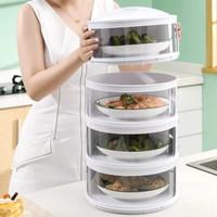 Food cover multi layer 4 set / tudung saji tahan panas