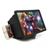 Kaca Pembesar Proyeksi Layar HP Smartphone 3D Portable