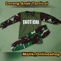 Baju Loreng anak Tactical usia 1-6 tahun
