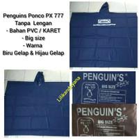Grosir jas hujan penguin penguins px 777 ponco big size bahan tebal
