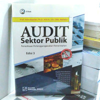 ORIGINAL!! AUDIT SEKTOR PUBLIK EDISI 3 -CD BOOK INDRA BASTIAN