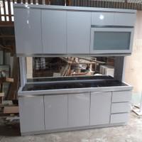 lemari sayur / lemari dapur / kitchen set 200cm