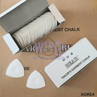 BEAR Kapur Segitiga Penanda Bahan Baju Tailor Chalk