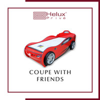 Kasur Coupe With Friends Series - Fullset - Car Bed
