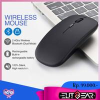 ELITEGEAR W1 Mouse Ultra-Thin Wireless 2.4G Rechargeable