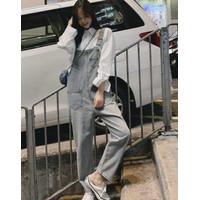 Baju Kodok Jeans Playsuit Jumpsuit Import XL Style Denim Tebal
