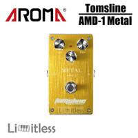 Efek Gitar Tomsline AMD1 AMD-1 Metal Distortion Pedal Aroma Original