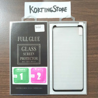 TEMPERED GLASS 3D SAMSUNG GALAXY S8 plus+ CURVE FULL COVER ANTI GORES