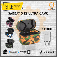 SABBAT X12 Ultra Camouflage AptX Qualcomm Bluetooth 5.0 TWS Headset - Sahara