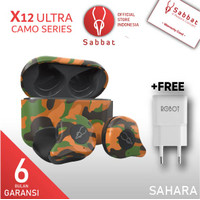 SABBAT X12 Ultra Camouflage Sahara AptX Qualcomm Bluetooth 5.0 TWS