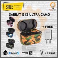 Sabbat E12 ULTRA Camouflage Qualcomm APTX Bluetooth 5.0 Alt X12 Pro - Sahara