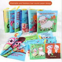 Mainan Buku Cerita Kain Bayi Edukasi Soft Cloth Story Book Baby