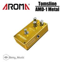 Pedal Efek Gitar Tomsline AMD1 AMD-1 Metal Distortion Aroma Original