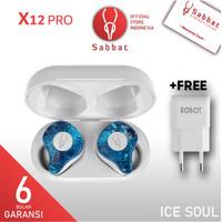 Sabbat X12 Pro TWS Bluetooth 5.0 Wireless Earphone Stereo In-ear ORI