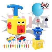 Mainan Balloon Launcher Power Car Mobil Pompa Tenaga Balon Tekan Anak